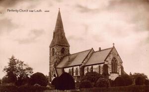 Fortherby Church near Louth Eglise Postcard