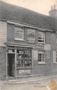 Farningham Marianne's Birthplace Chronicle Mummery Store Commerce frontshop