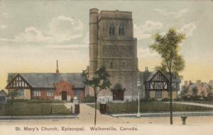 WALKERVILLE , Ontario , 1907 ; St Mary's Church , Episcopal