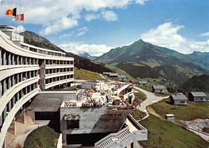 Switzerland Leysin, Hotel Koningin Reine Fabiola Terrace Panorama