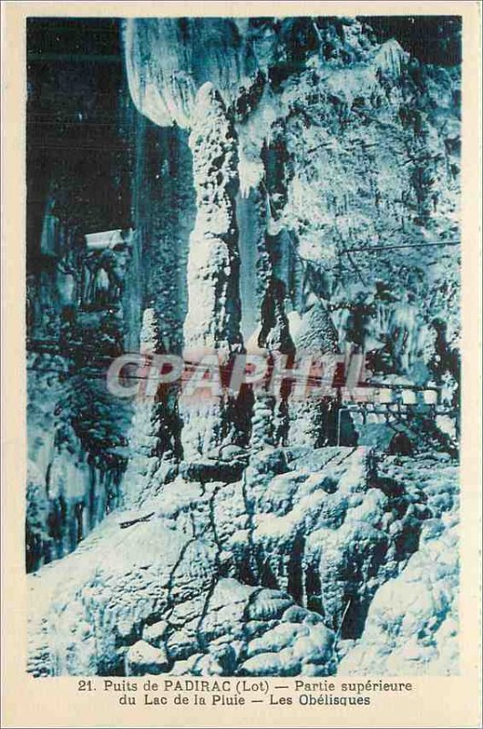 Old Postcard Well of Padirac Lot Lake Superior Part of Piuie
