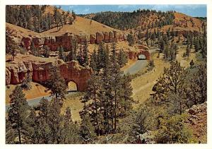 USA Tunnels Red Canyon Utah Scenic Highway Bryce Canyon National Park