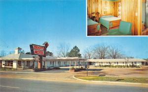 Bamberg SC Ziggy's Motel Located on U.S. 301 Postcard