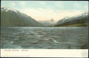 norway norge, NARVIK, Harbour Scene (ca. 1899)