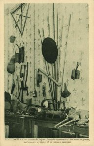 indochina, SAIGON, Museum, Weapons of War, Fishing and Agricultural Tools 1920s