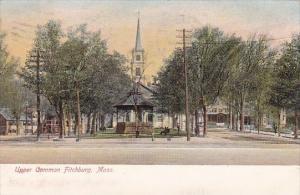 Upper Common Fitchburg Massachusetts 1907