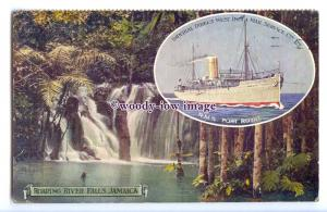 LS1239 - Imperial Direct Liner - Port Royal - artist postcard