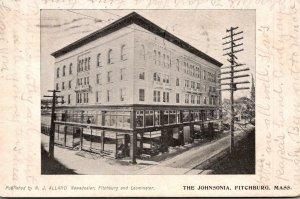 Massachusetts Fitchburg The Johnsonia 1905