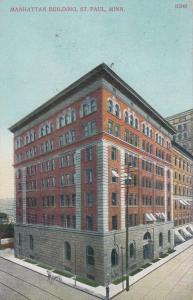 ST. PAUL , Minnesota , 1908 ; Manhattan Building
