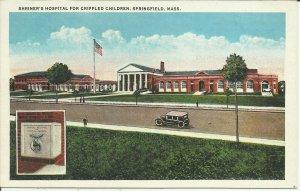 Springfield, Mass., Shriner's Hospital For Crippled Children  B