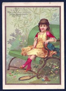 VICTORIAN TRADE CARD McKeon & Todd Men's & Boys' Clothing