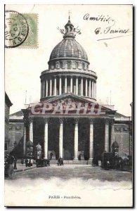 Old Postcard Paris Pantheon