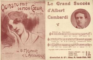 costallat  &  cie, editurs, 60 ,chausse d'antin CPA Compositeur Musique (146008)