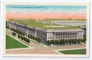 Washington DC Department of Commerce Building Postcard