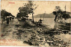 VIETNAM INDOCHINE - Annam - Tourane Quai de Tourane (190215)