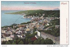 Panorama di Posillipo, NAPOLI (Campania), Italy, 1900-1910s