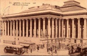 France Paris La Bourse 1923