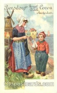 Bensdorp, Dutch Cocoa Advertising Postcard Post Card  Bensdorp, Dutch Cocoa