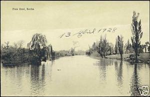 uruguay, ROCHA, Paso Real, River Scene (1928)