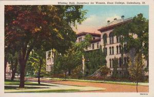 Illinois Galesburg Whiting Hall Dormitory For Women Knox College