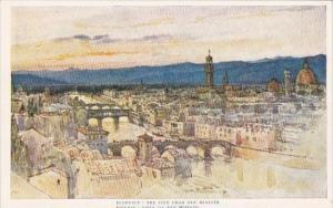 Italy Firenze Vista da San Miniato