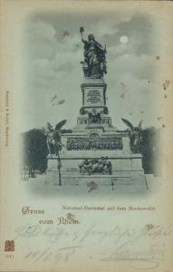 Germany Gruss vom Rhein National Denkmal auf dem Niederwald 02.07