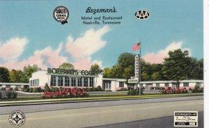 Tennessee Nashville Bozeman's Motel & Restaurant sk4804
