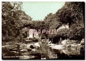 Postcard Old Jesmond Dene Newcastle Tyne is