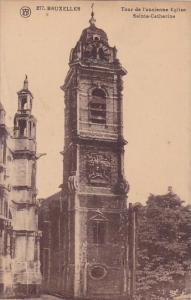 Belgium Brussells Tour De Lancienne Eglise Sainte Catherine