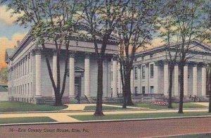 Pennsylvania Erie County Court House