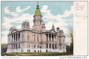 Adams County Court House Quincy Illinois 1906