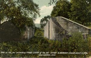 OH - Lisbon. Sandy & Beaver Canal Lock