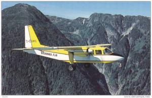 Wilderness Airline, Ltd, Pilatus BN-2A-26 Islander airplane, Bella Coola Vall...