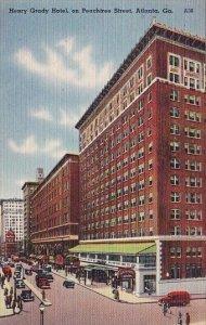 Henry Grady Hotel On Peachtree Street Atlnta Georgia