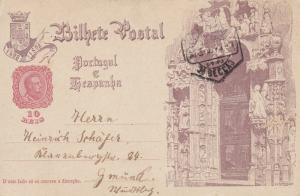 Postal card , Portugal , PU-1898