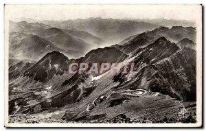 Old Postcard Ocean Pic Du Midi Pyrenees The Tray Laguet Terminus De Roule See...