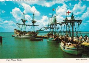 Virginia Jamestown The Three Ships Susan Constant Godspeed and Discovery