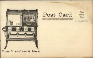 Florence Ranges Stoves Atherton Furniture Co 39 Court St. Plymouth MA Postcard