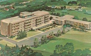 Topeka, KS, Brewster Place, Congregational Home, 1973 Vintage Postcard g9491