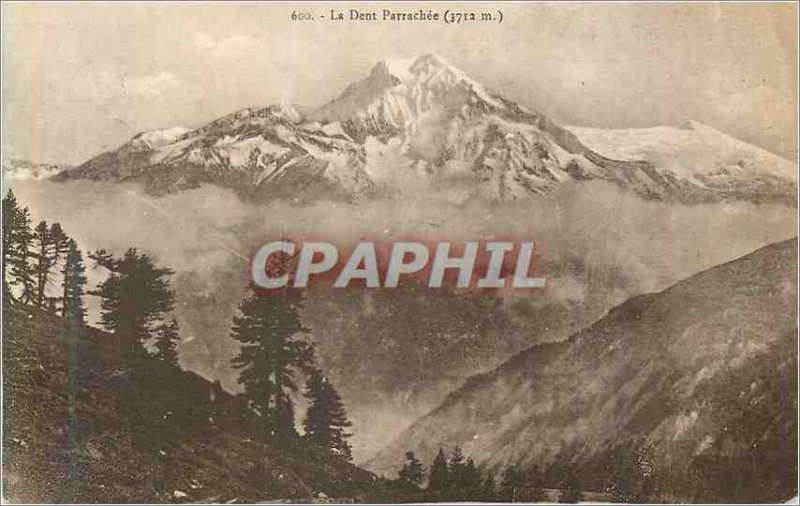 Postcard Former 600 Dent Parrach?e (3712 m)