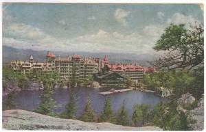 Mohonk Lake, New York to Philadelphia, Pennsylvania 1952 PC, Mountain House