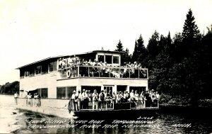 MI - Newberry. Riverboat Tahquamenon on Taquamenon River  *RPPC