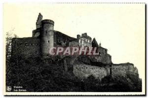 Old Postcard Vianden The Ruins