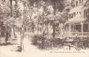 Florida Daytona Ridgewood Avenue