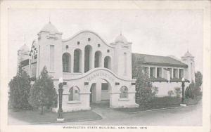 Washington State Building Panama-California Exposition San Diego 1915