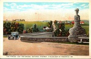 Maryland Old Jug Bridge Near Frederick Curteich
