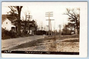 RPPC ROSSVILLE MD MARYLAND BALTIMORE COUNTY EARLY VIEW PHILADELPHIA & RIDGE RDS