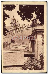 Old Postcard Briancon Les Remparts