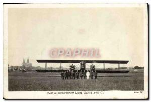 Old Postcard Jet Aviation Aircraft bombing Liore Olivie