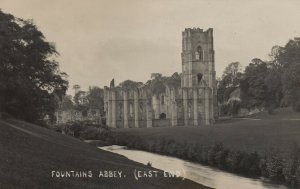 RP: RIPON , UK , 1908 ; Fountains Abbey , East end
